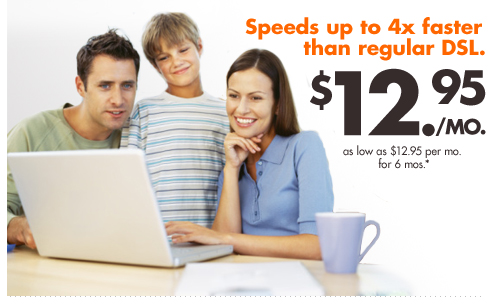 Order EarthLink DSL for as low as $12.95 a month!